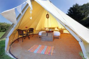 Wedding Venue Hire includes Bell Tent