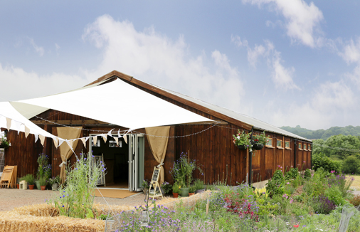The Barn at Cott Farm wedding venue in somerset