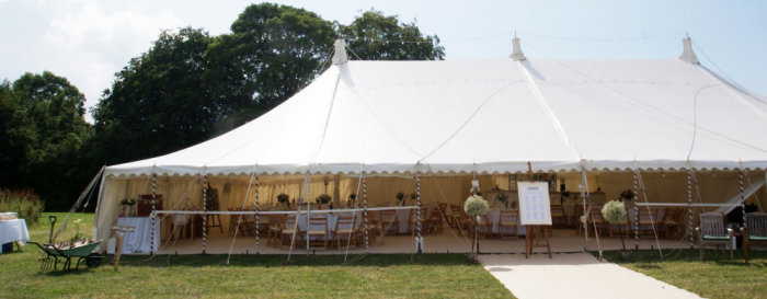 wedding marquee wedding venue in somerset