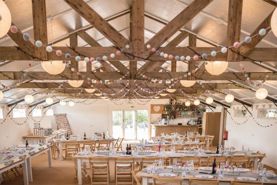 Barn wedding theme