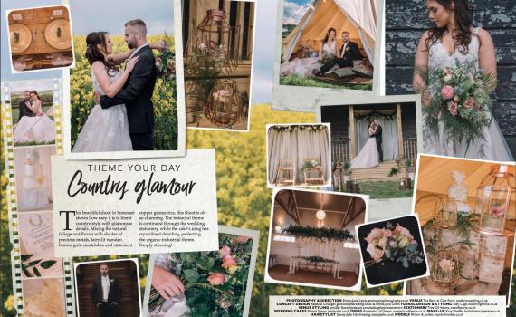 Country Glamour Wedding Photoshoot