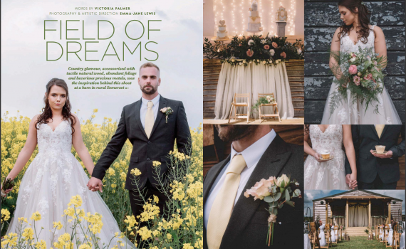 vow magazine - field of dreams