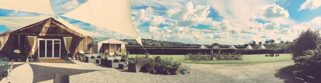 Cott Farm Party Venue in Somerset