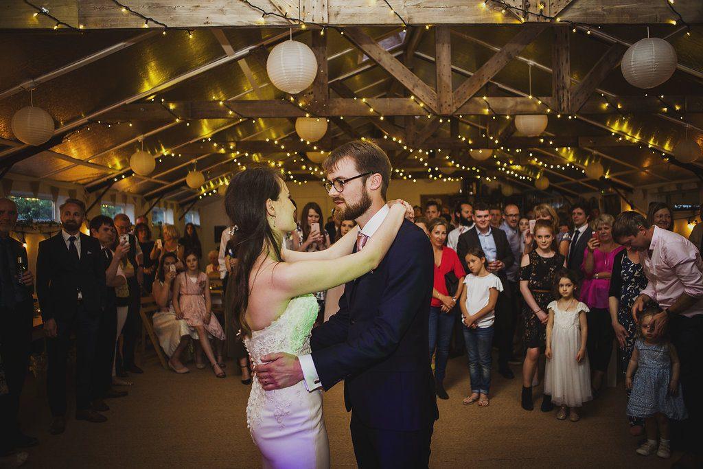 Indoor weddings at Cott Farm in Somerset