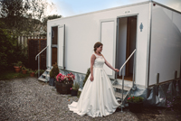 Luxury wedding toilets at Cott Farm