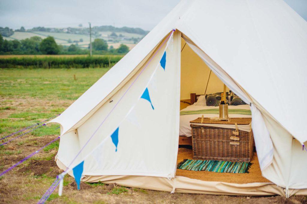 wedding venue bell tents