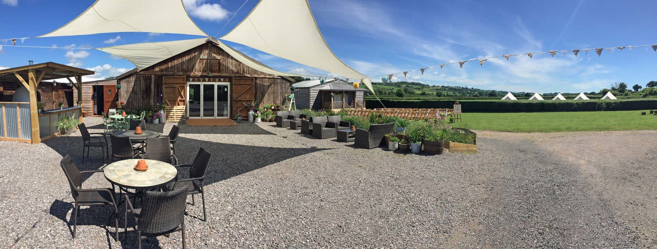 The Barn at Cott Farm Wedding Venue in East Chinnock, Somerset