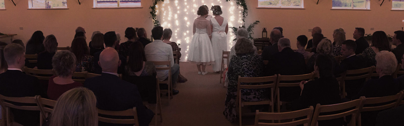 indoor wedding ceremony venue somerset