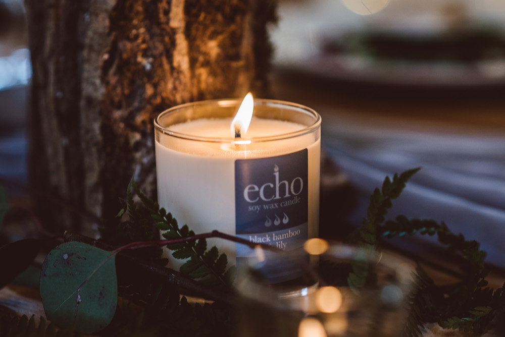 Eco-friendly Candles from Somerset-based Echo Candles