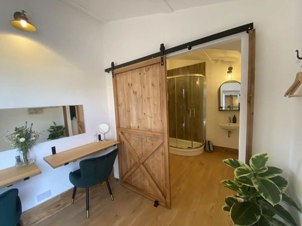 Venue dressing room
