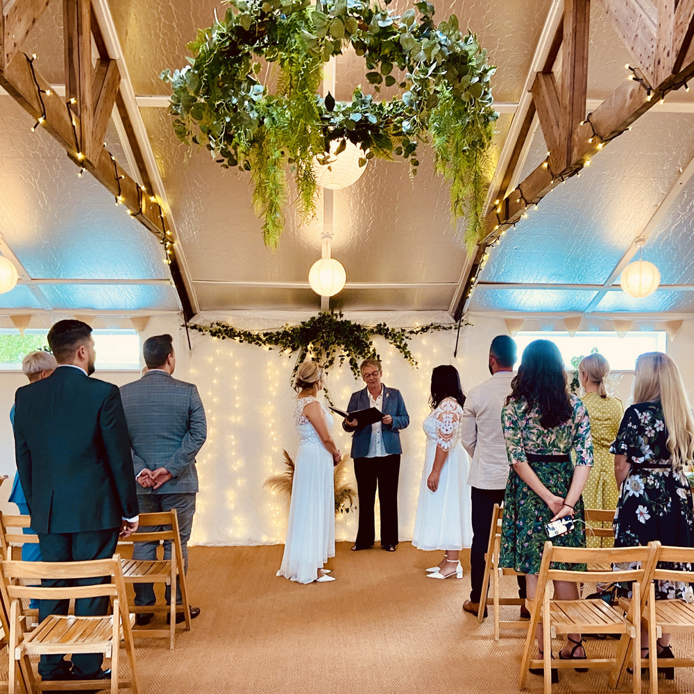 Venue for wedding ceremony only